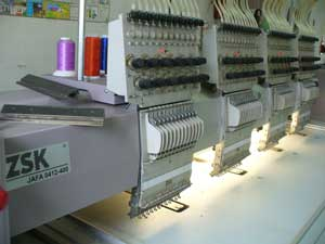Embroidery Machine ZSK JAFA 0412