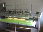 ZSK embroidery machine for high quality embroidery