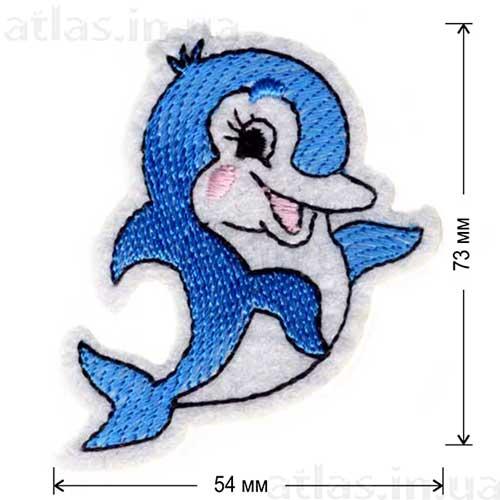 дельфин аппликация детская