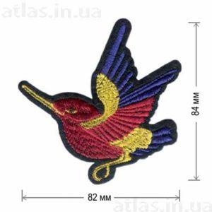 Нашивка Красная колибри