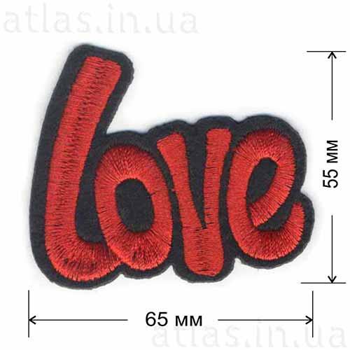 Нашивка Love