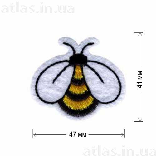 пчелка нашивка термо