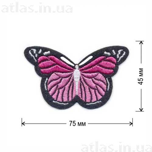 бабочка розовая 1