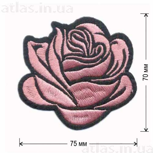 розовый бутон розы