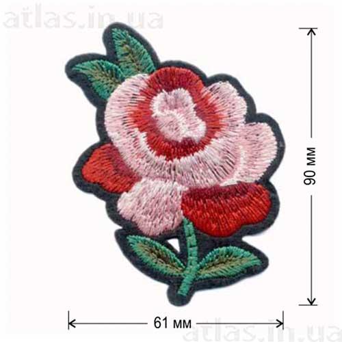 роза аппликация