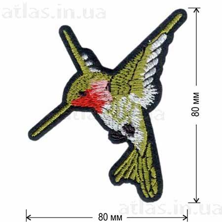 Патч Тропическая Колибри правая