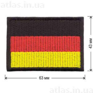 флаг германии нашивка