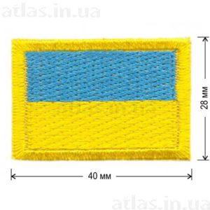 флаг украины нашивка