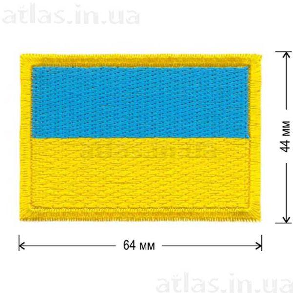 украинский флаг нашивка