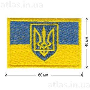 флаг украины с тризубом
