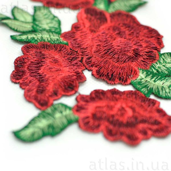цветы на сетке