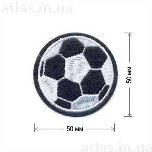 футбольный мяч нашивка на одежду