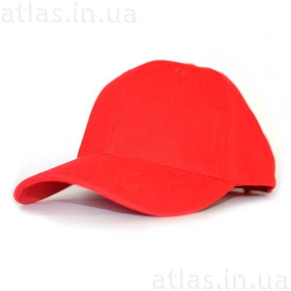 красная бейсболка