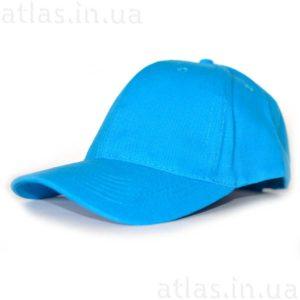 голубая бейсболка