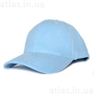светло-голубая бейсболка