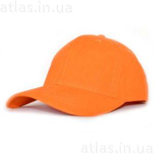 оранжевая бейсболка