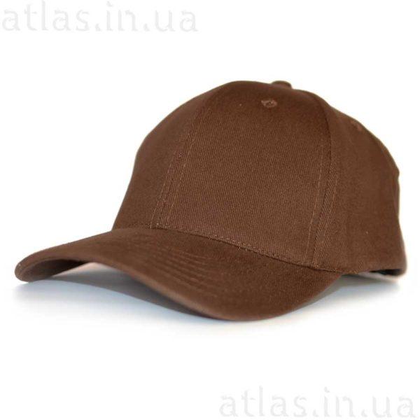 коричневая бейсболка