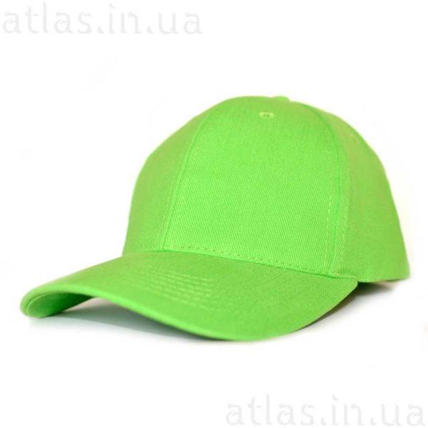 ярко-зеленая бейсболка