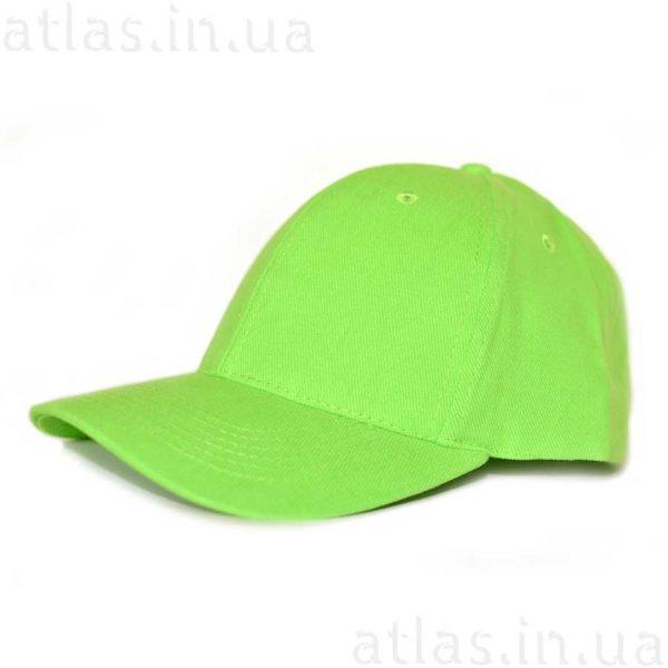 ярко-зеленая кепка