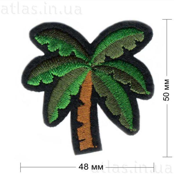 пальма нашивка на одежду