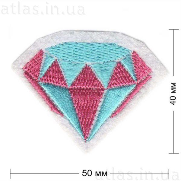 диамант нашивка