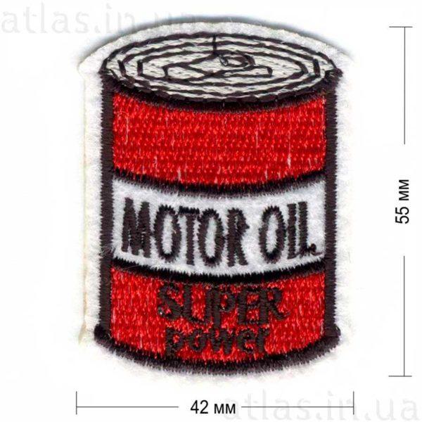 motor oil гламурная нашивка