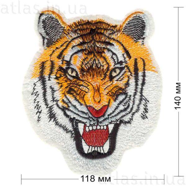 нашивка на спину тигр