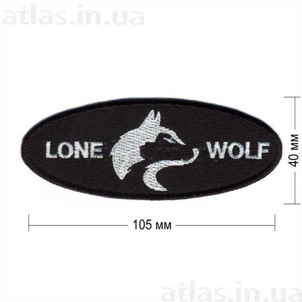 lone wolf нашивка