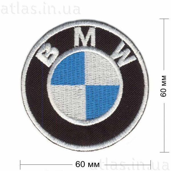 BMW нашивка на куртку