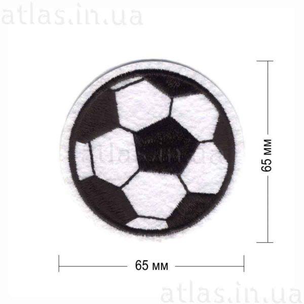 мяч футбольный белая нашивка