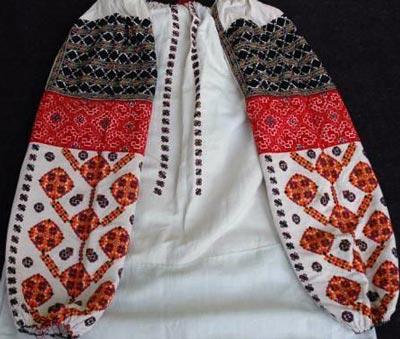 Традиционная узор Буковина Украина - схема вышивки крестом