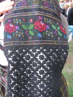 Традиционный узор Тернопольщина Украина - схема вышивки крестиком