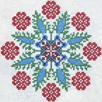 Украинская вышивка крестиком