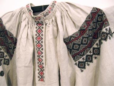 Традиционный узор Винничина Украина - схема вышивки крестиком
