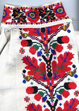 Традиционный узор Волынь Украина - схема вышивки крестиком